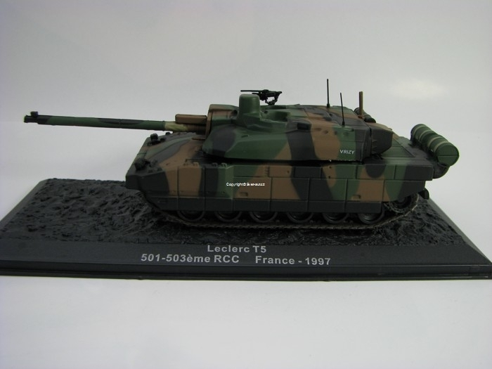 Tank Leclerc T5 France 1997 1:72 Atlas edition